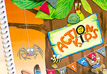 Action Kids Animals
