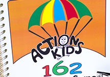 Action Kids 162 Parachute Games
