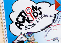 Action Kids Song and Rhyme