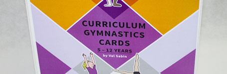 val sabin publications primary school gymnastics cards picture