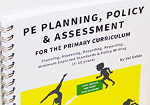 PE Planning, Policy and Assessment (in the Primary Curriculum)