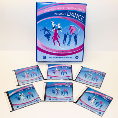 Val Sabin Publications Primary School Dance KS2 complete set