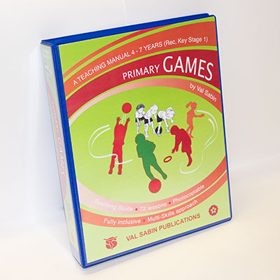 Val Sabin Publications Primary School Games KS1 manual