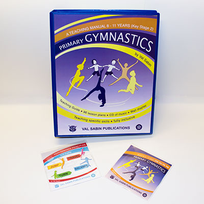 Val Sabin Publications Primary School Gymnastics KS2 complete set