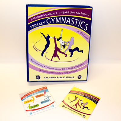 Val Sabin Publications Primary School Gymnastics KS1 complete set