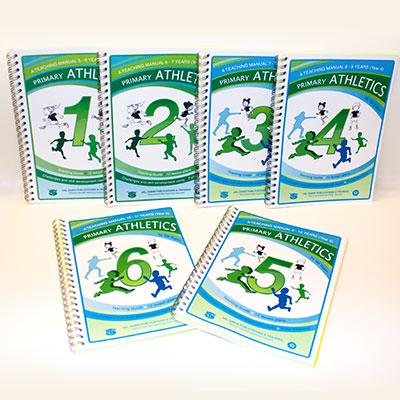 val-sabin-publications-athletics-individual-manuals-complete-set