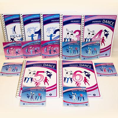 val-sabin-publications-dance-individual-manuals-complete-set