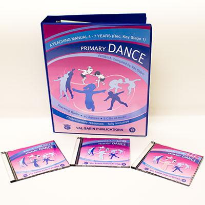 Val Sabin Publications Primary School Dance KS1 complete set