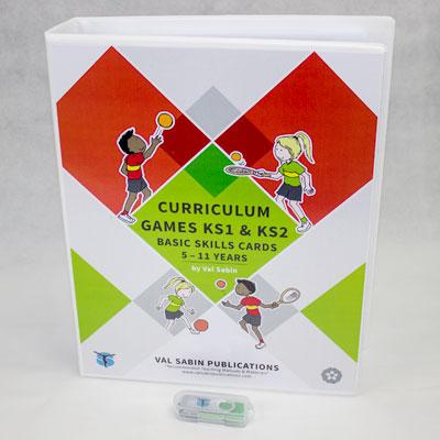 Curriculum Games KS1 & KS2 cards